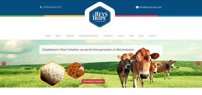 Heys Tripe Website Launch